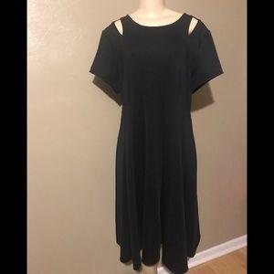 Ashley Stewart black dress, size 16.